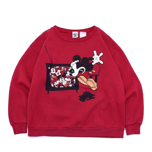 90's Boys Mickey & co print sweatshirt