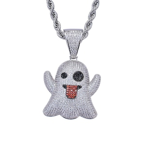 Iced Out Emoji Necklace