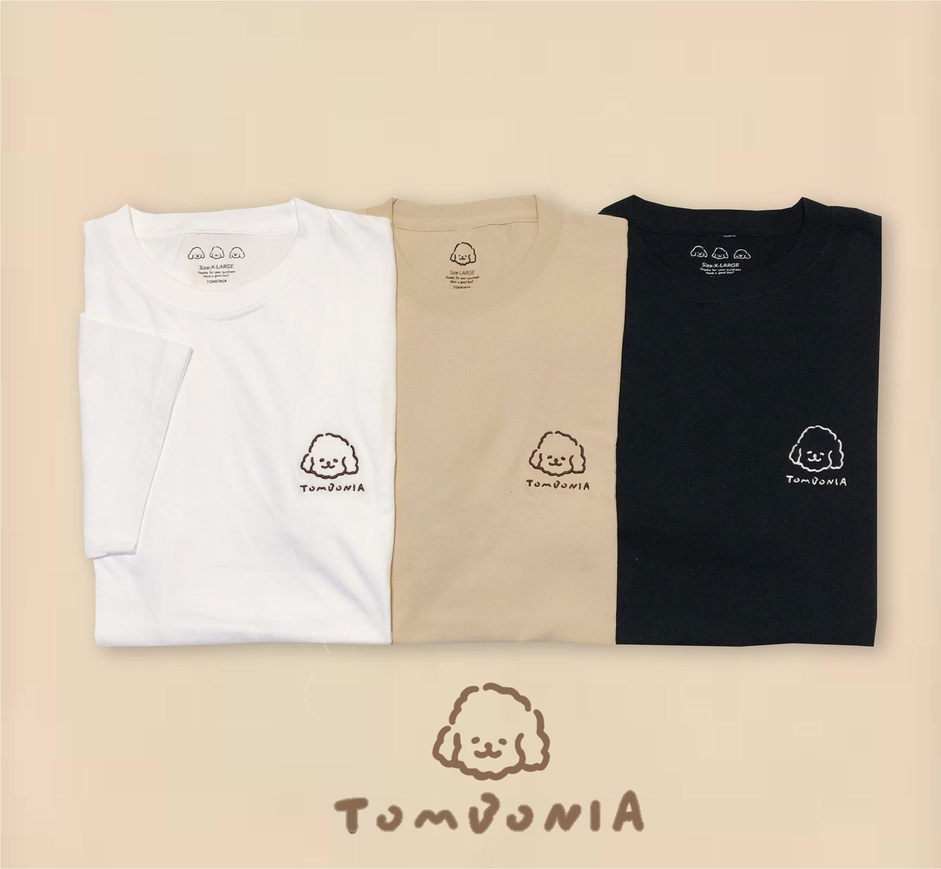 Muck刺繍 t-shirt