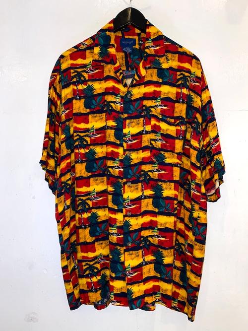 TOWNCRAFT オープンカラーシャツ