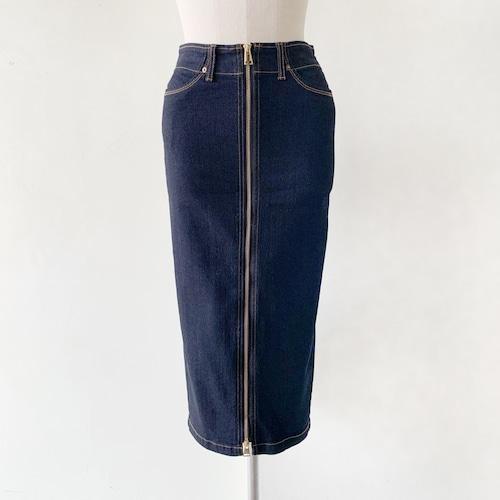 LUGER by akko3839 (ルガー) デニムジップタイトスカート 27008