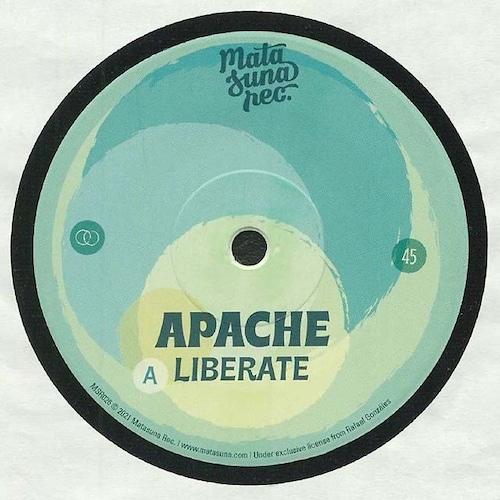 """【7""""】Apache - Liberate / Hombre"""