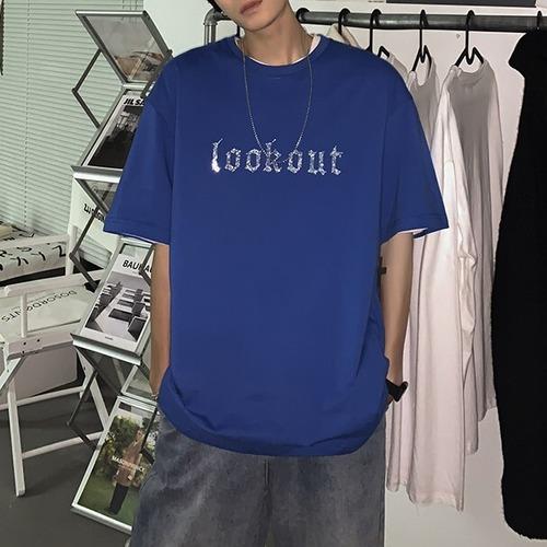 ストーンロゴTシャツ BL8648