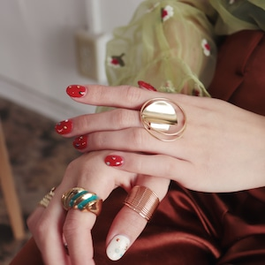 RING || 【通常商品】 CHIPSTAR RING (GOLD) || 1 RING || GOLD || FAL014