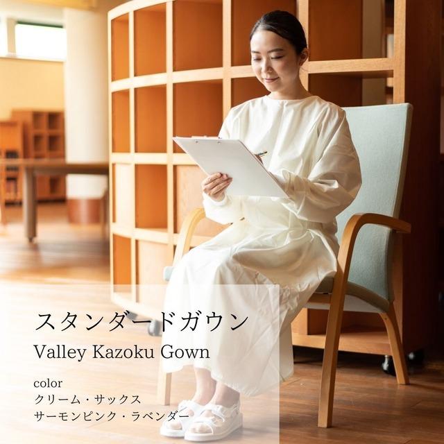 日本製 医療 撥水スタンダードガウン【男女兼用 クリニック・歯科・サロンで長袖エプロンとしても。感染予防・飛沫粉塵対策に】