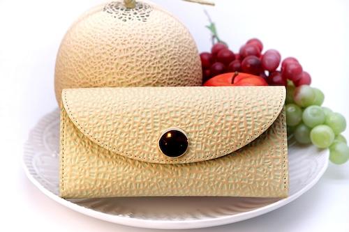 新発想!カードが整理しやすい長財布(牛革製)/静岡クラウンメロンコラボ