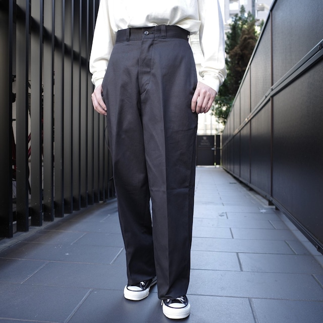 LENO(リノ)WIDE CHINO TROUSERS CHARCOAL