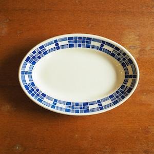 Badonviller(バドンヴィレ)の青い幾何学模様のラヴィエ