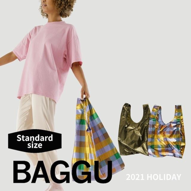 【送料無料】STANDARD BAGGU <metallic>  2021 HOLIDAY 全2色