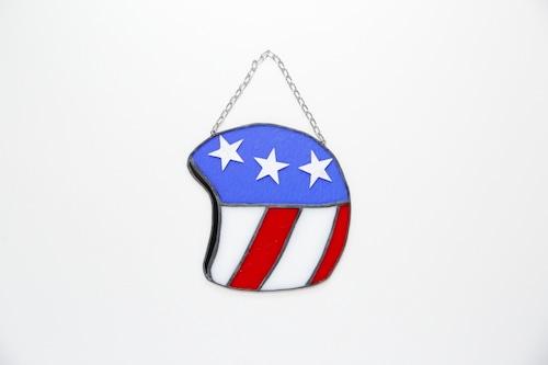 サンキャッチャー ヴィンテージヘルメット