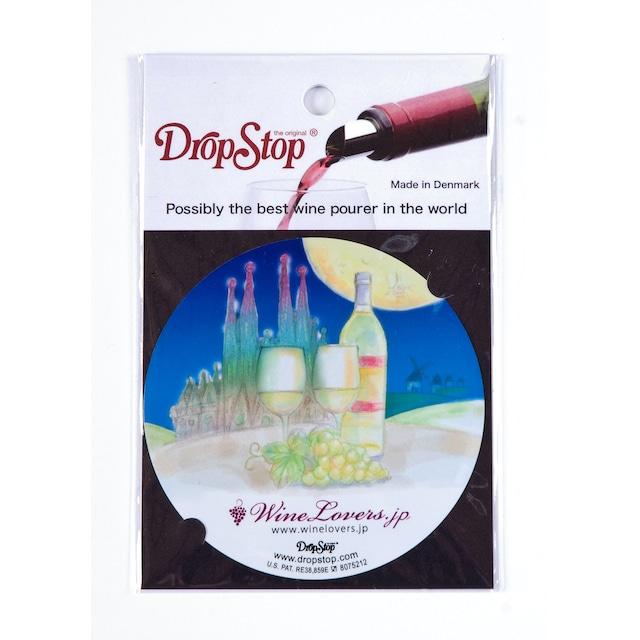 【アウトレット】ワインの液だれ防止 ドロップストップVol.1 / スペイン 1枚入り DropStop DSS004
