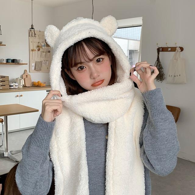 【小物】日系合わせやすいフェアリー キュートスウィートクマちゃん帽子36154904