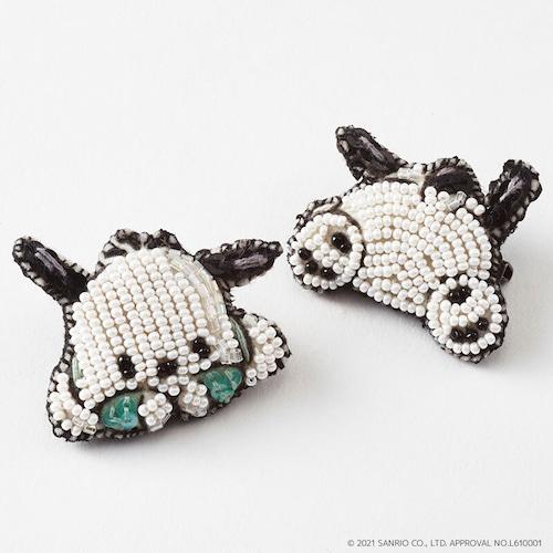 刺繍ブローチ ポチャッコ/Sanriocharacters Pochacco
