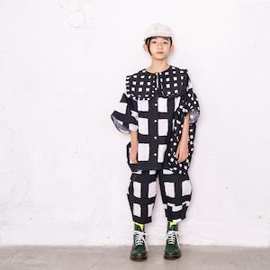 ORIG. CHECK MIX PENTAGON DRESS SHIRT / LL