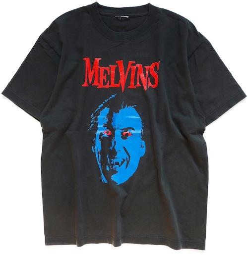 90年代 00年代 メルヴィンズ バンド Tシャツ   クリストファー・リー ドラキュラ MELVINS 映画 ホラー ヴィンテージ 古着