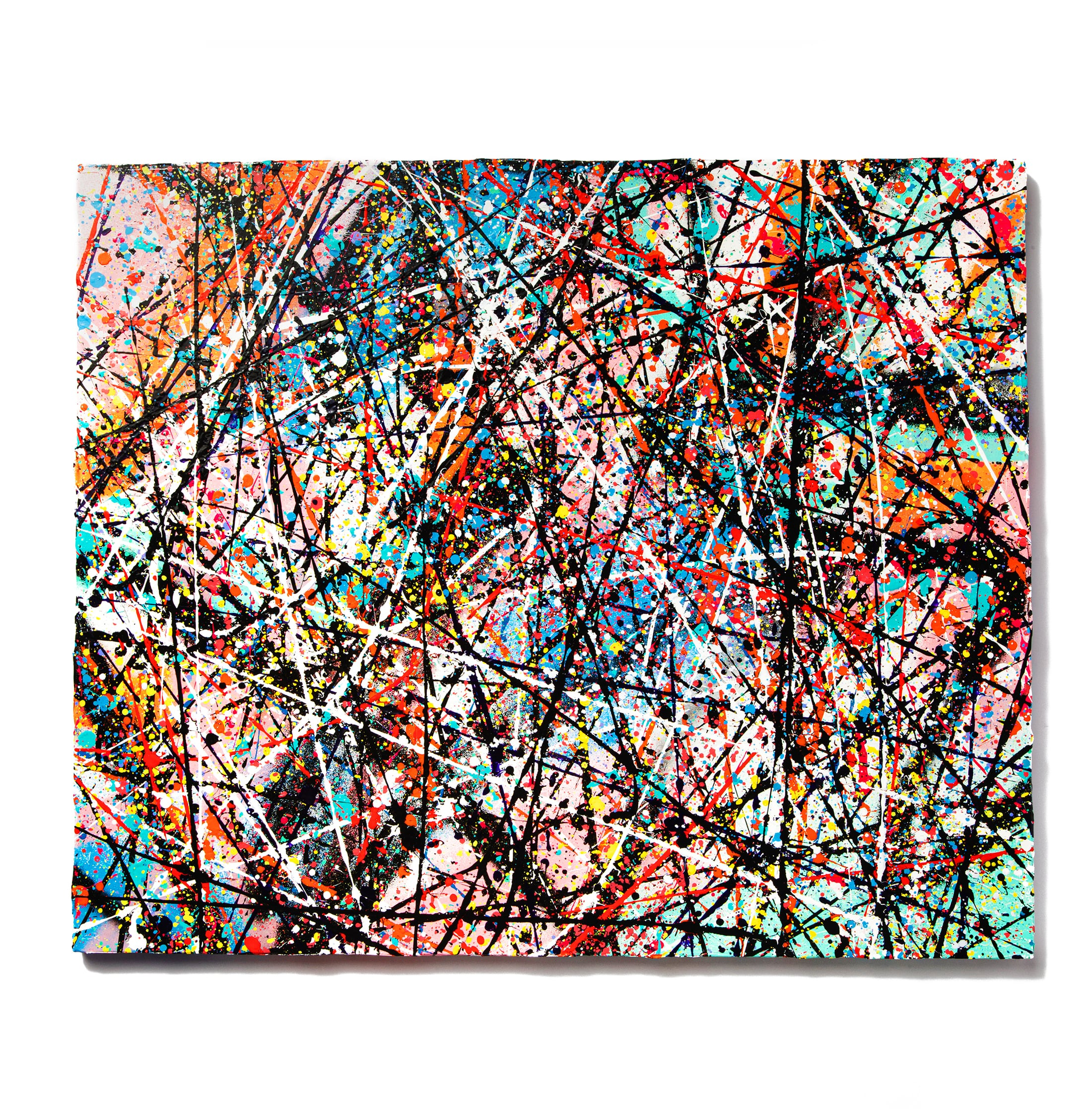Abstract Painting: NEW NOISE