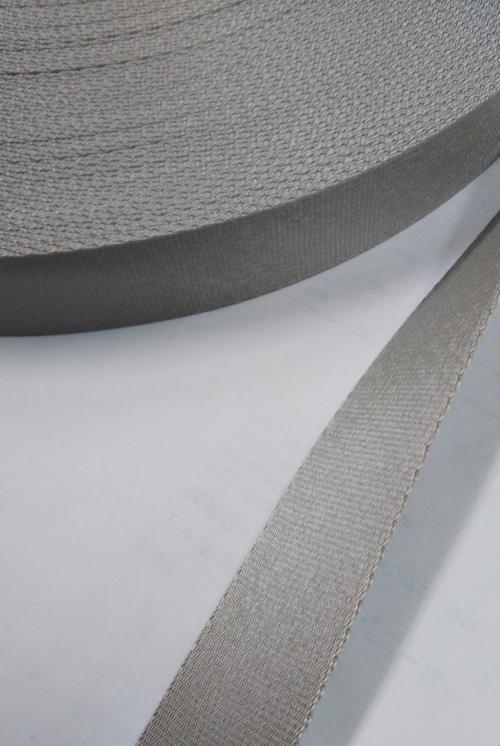 ナイロンテープ サテン調 朱子織 20mm幅 カラー 1m