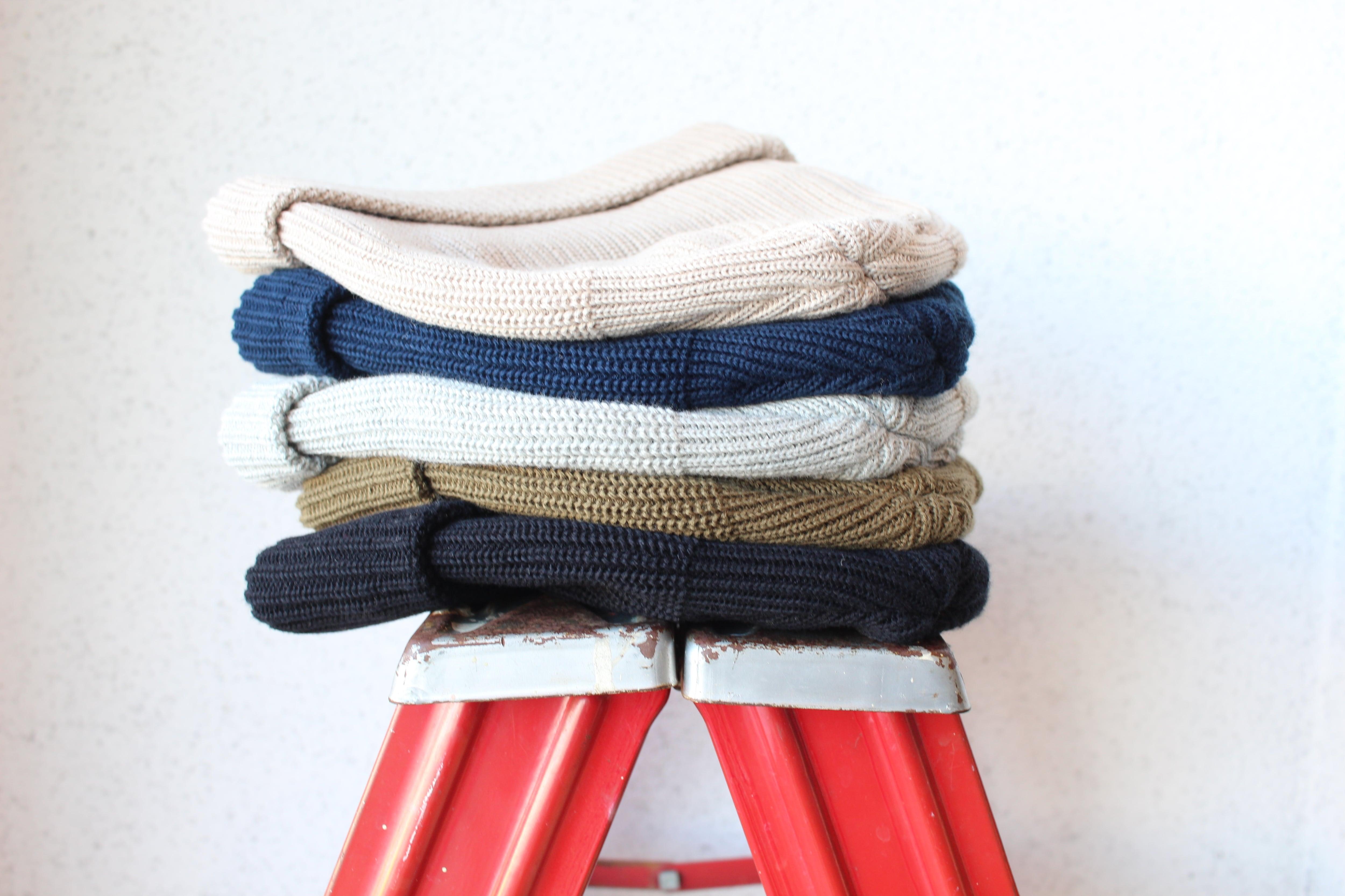 【全色揃えての入荷!】DECHO(デコー)/ Knit Cap(ニット キャップ)