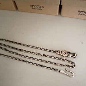 RMS CHAIN NECKLACE [SILVER]