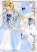イラストレーター応募作品「淑女の装いセットアップ」