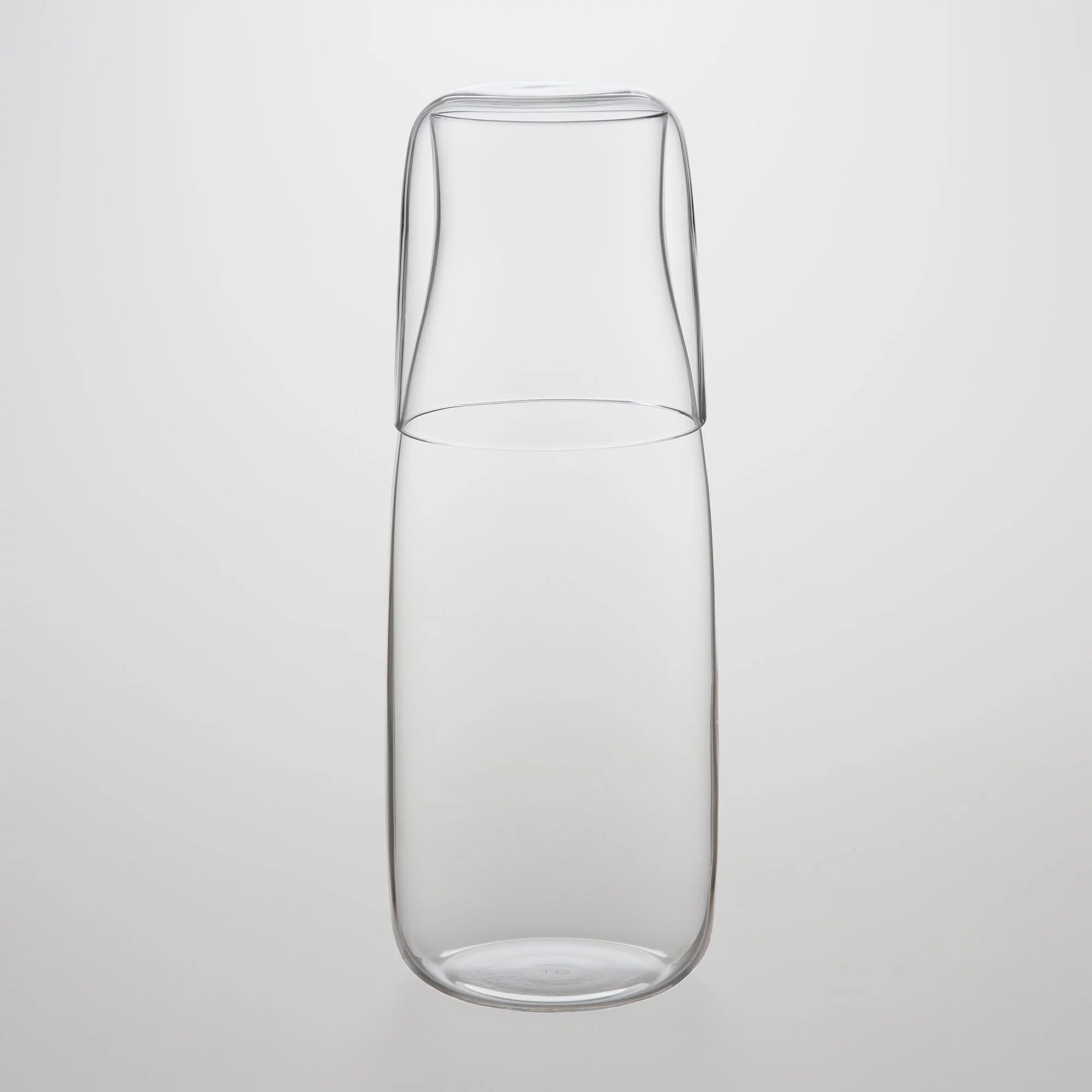 TG glass (ティージーガラス) Water Pitcher and Cup set 760ml (ウォーターピッチャー&カップ)