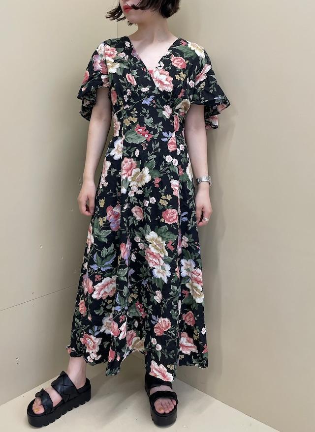 floral  one-piece / 7SSOP16-17