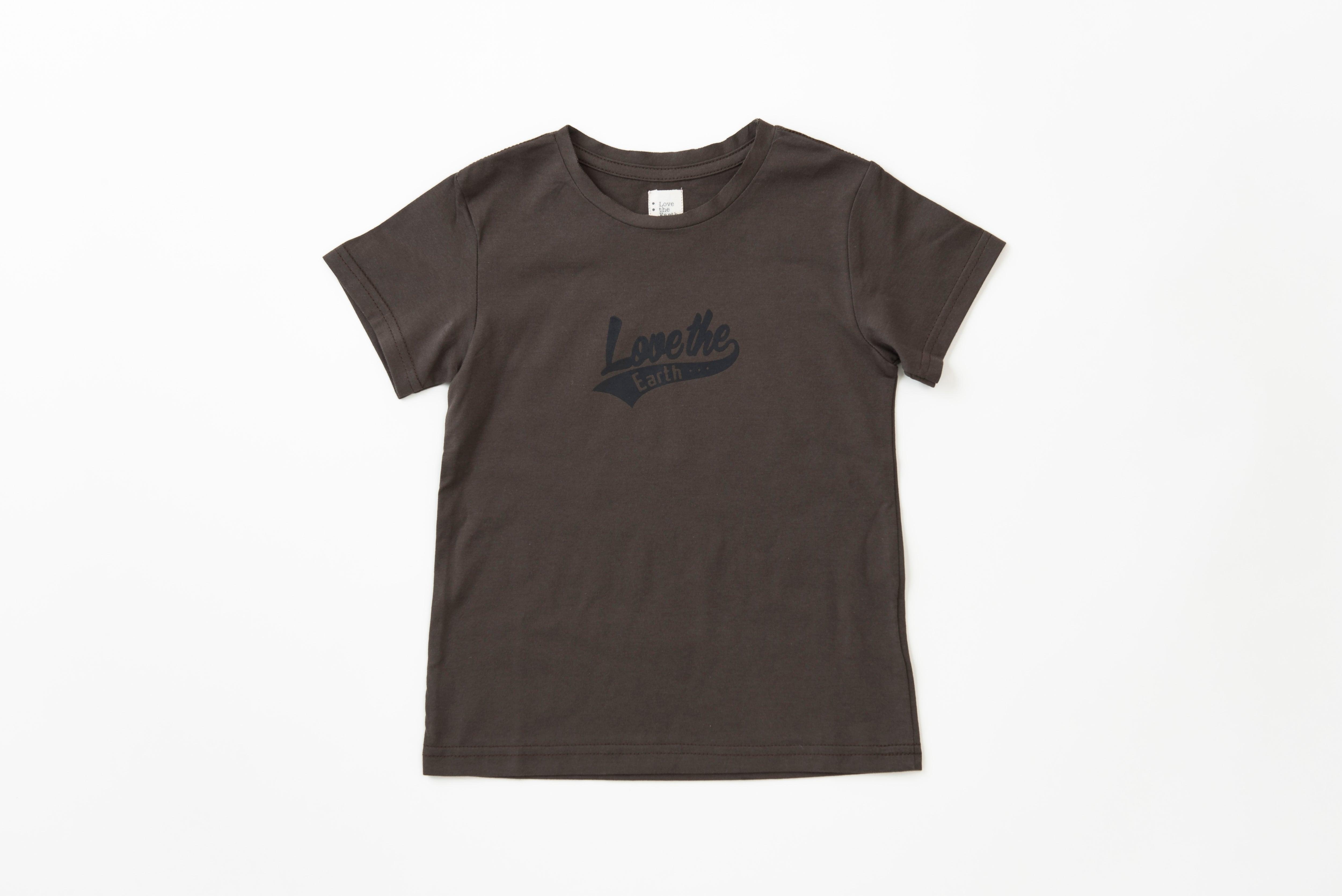 LtEロゴプリントTシャツ(ブラウン)