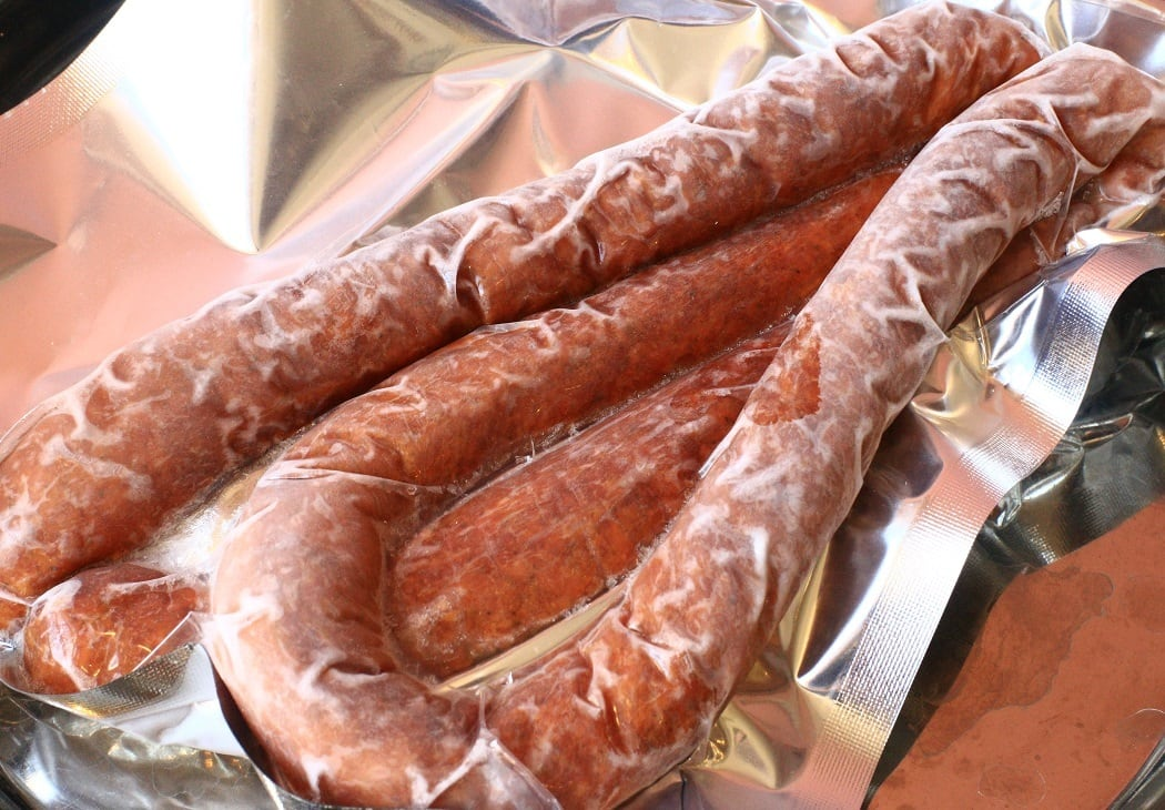 ポーランドのソーセージ「キェウバサ」(スモーク)Kiełbasa / Polish sausage