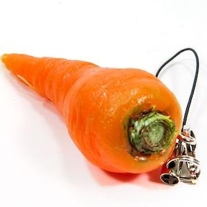 にんじん 食品サンプル キーホルダー ストラップ