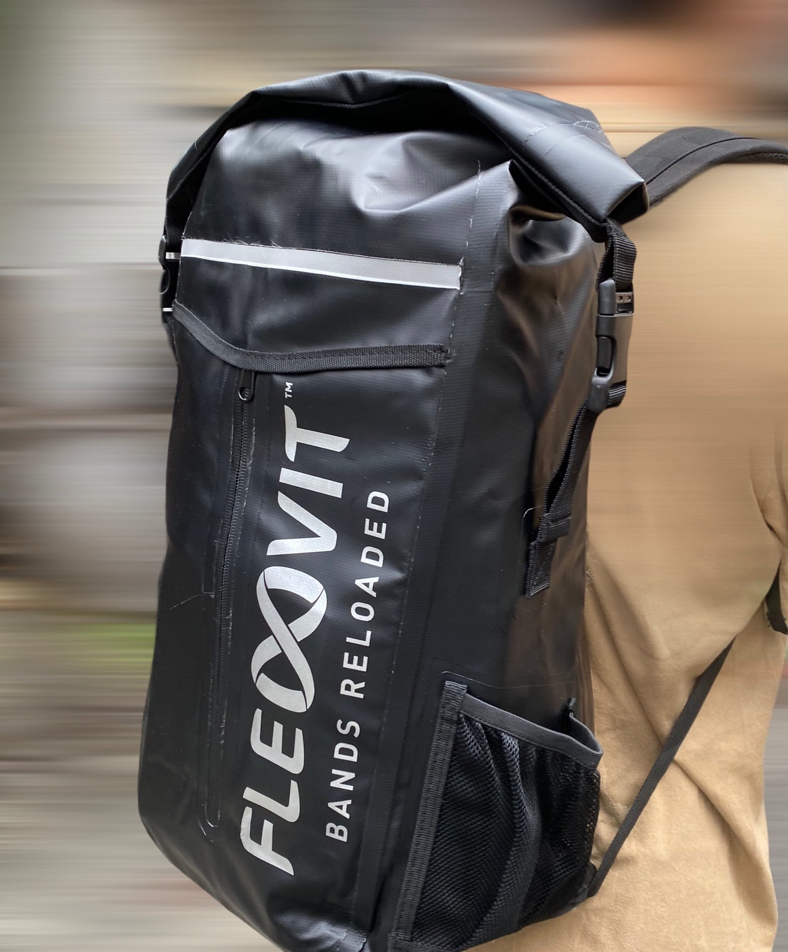 FLEXVIT ROLL-TOP BACKPACK-フレックスヴィット ロールトップバックパック