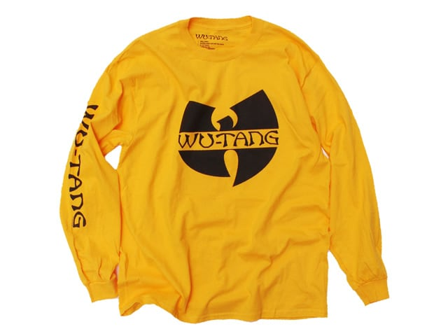Wu-TANG CLAN|Official L/S Tee