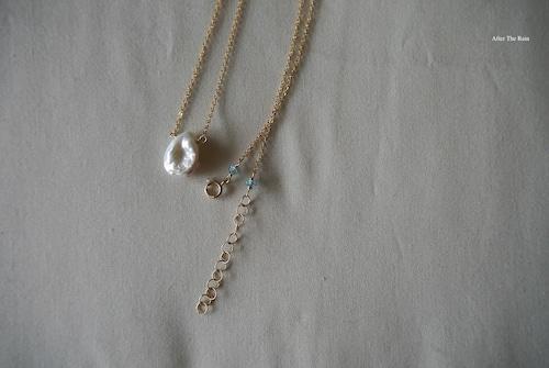 ケシパール ひと粒のネックレス