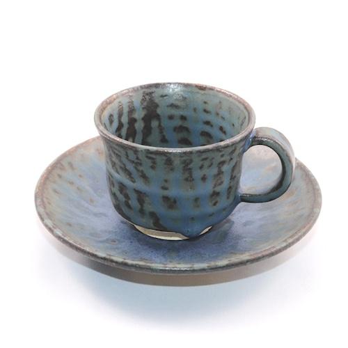 青灰釉 コーヒーカップ  Aokaiyu(Blue Ash Glazes) Coffee Cup