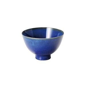 aito製作所 「群青 Gunjo」お茶碗 飯碗 約12cm ネイビー 美濃焼 288009
