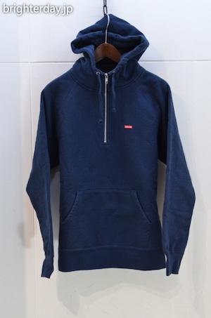 Supreme Small Box Logo Half Zip Hooded Sweatshirt
