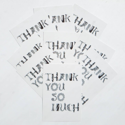 【ポストカードセット10枚セット】Thank you so much