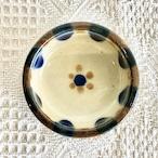 『ノモ陶器製作所』饅頭鉢 コバルト チチチャン