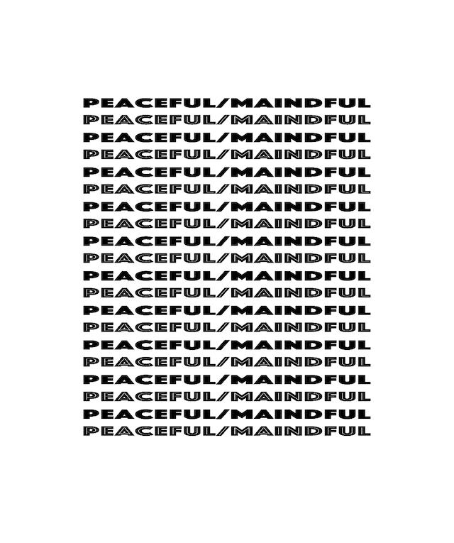Peaceful/Mindful スマホリング