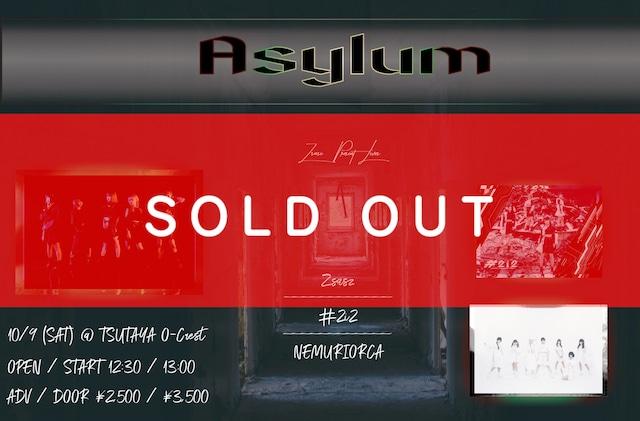 【10/9 「Asylum」@TSUTAYA O-Crest チェキ】 (メンバー指定可能)【NI083】