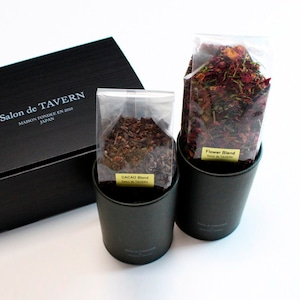 Salon de TAVERN TEA SET / Cacao + Flower Brand