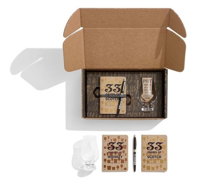 33 BOOKS - ウイスキー・テイスティングセット