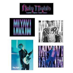 【MIYAVI''Holy Nights''JAPAN TOUR 2020】ステッカー5枚セット
