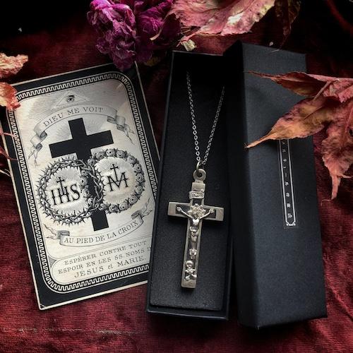 髑髏付き十字架とデスカード