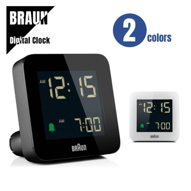 【即納】BRAUN ブラウン DIGITAL CLOCK デジタルクロック BC09 置き時計★2カラー 送料無料