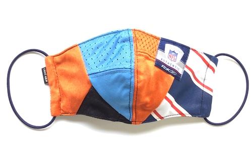 【デザイナーズマスク 吸水速乾COOLMAX使用 日本製】NFL  CRAZY PATTERN SPORTS MASK CTMR 1125023