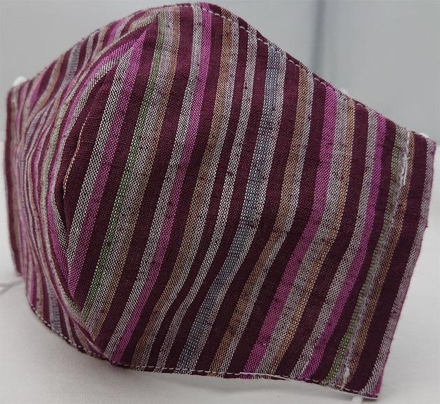 遠州織物のおしゃれ和柄ガーゼマスク(3点セット) Enshu textile  gauze mask x 3 piece