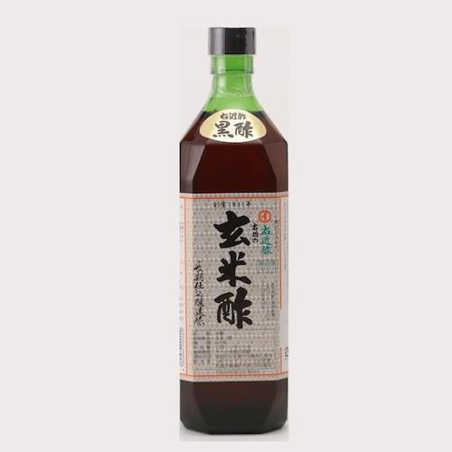 【醸造酢】720ml玄米黒酢