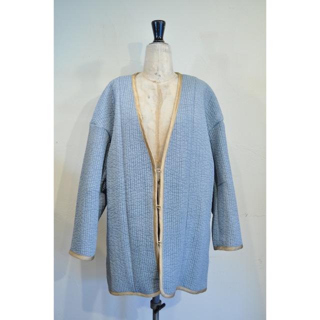 【ethical hippi】big trench coat (gray beige) / 【エシカル ヒッピ】ビッグトレンチコート(グレーベージュ)