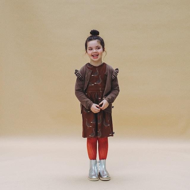 【20AW】カーラインク(CARLIJNQ)goose skater dress ワンピース ガチョウ