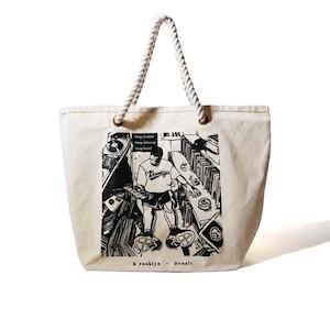 K'rooklyn × Denali Tote bag